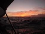 Over de Pacific.