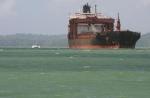 Uit het water en door het Panamakanaal.